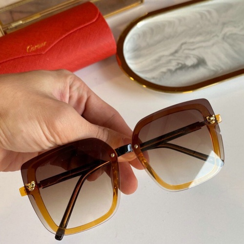 Cartier AAA Quality Sunglasses #776428