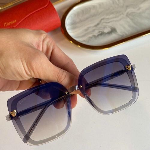 Cartier AAA Quality Sunglasses #776429