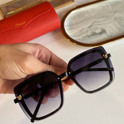 Cartier AAA Quality Sunglasses #776430