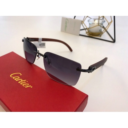 Cartier AAA Quality Sunglasses #776432