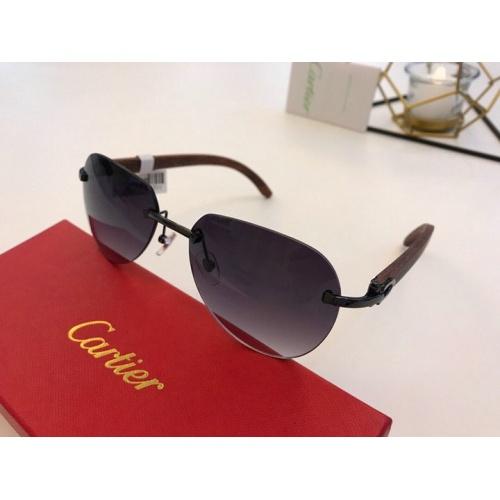 Cartier AAA Quality Sunglasses #776438