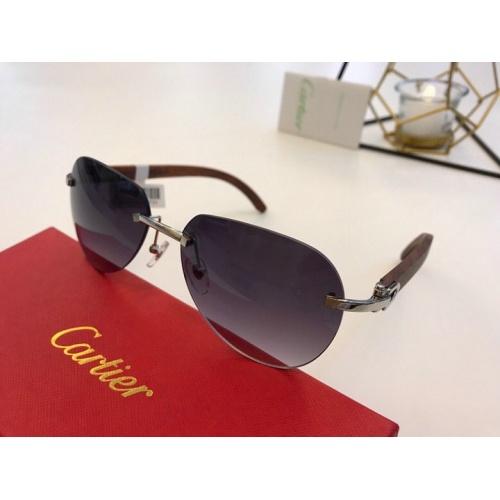 Cartier AAA Quality Sunglasses #776439