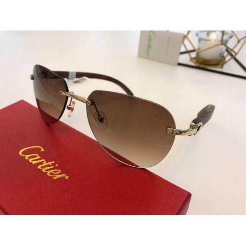 Cartier AAA Quality Sunglasses #776440