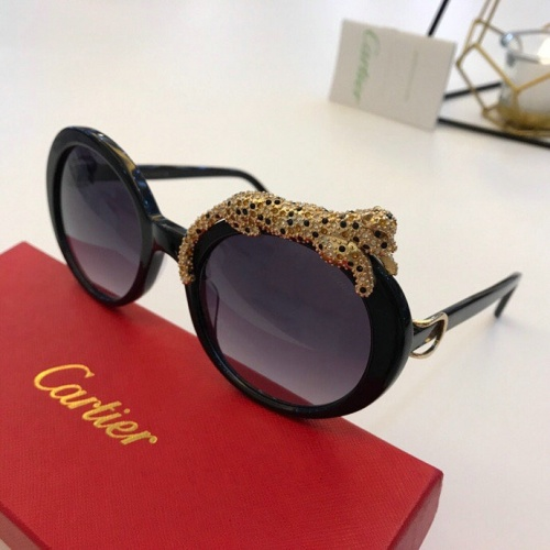 Cartier AAA Quality Sunglasses #776441