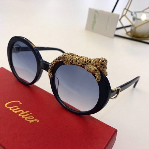 Cartier AAA Quality Sunglasses #776442