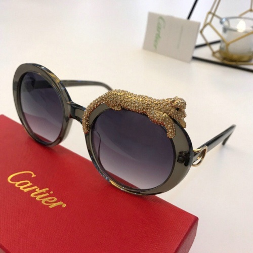 Cartier AAA Quality Sunglasses #776443