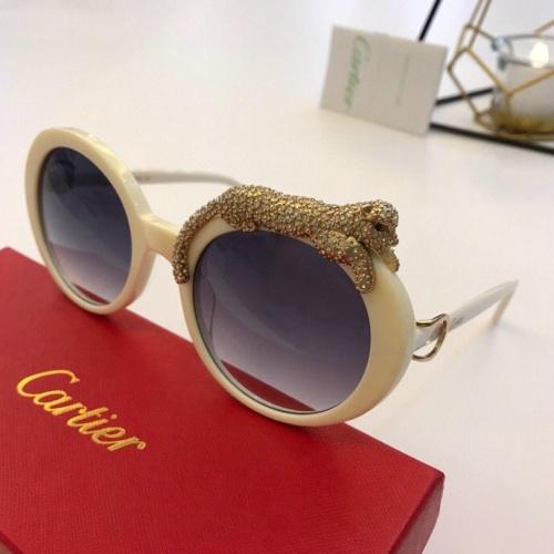 Cartier AAA Quality Sunglasses #776444