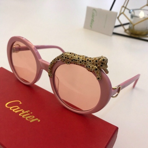 Cartier AAA Quality Sunglasses #776445