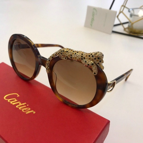 Cartier AAA Quality Sunglasses #776446