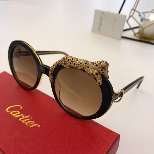 Cartier AAA Quality Sunglasses #776447