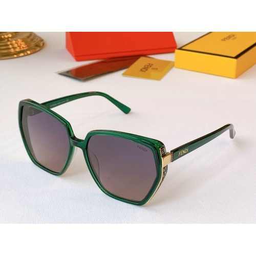 Fendi AAA Quality Sunglasses #776545