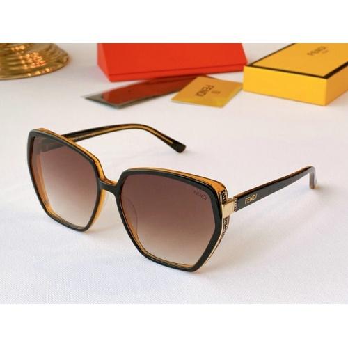 Fendi AAA Quality Sunglasses #776550