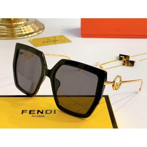 Fendi AAA Quality Sunglasses #776552