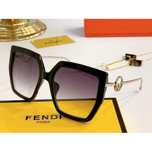 Fendi AAA Quality Sunglasses #776553