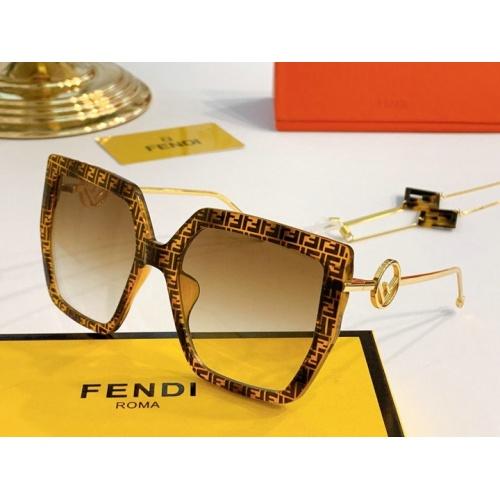 Fendi AAA Quality Sunglasses #776554