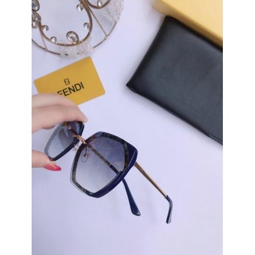Fendi AAA Quality Sunglasses #776563