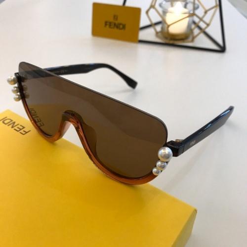 Fendi AAA Quality Sunglasses #776573
