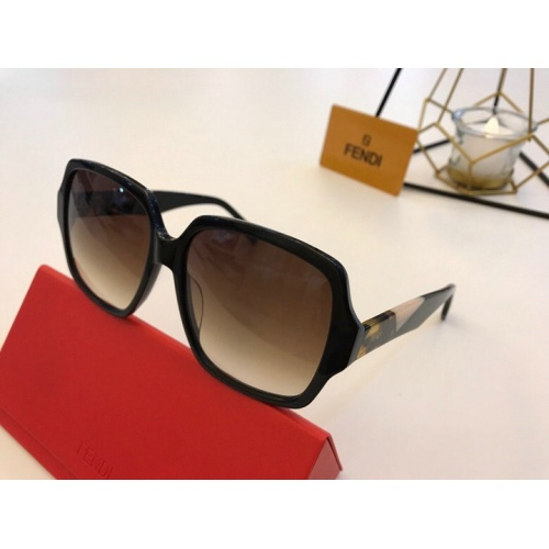 Fendi AAA Quality Sunglasses #776817