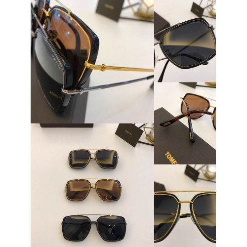 Replica Tom Ford AAA Quality Sunglasses #777078 $50.44 USD for Wholesale