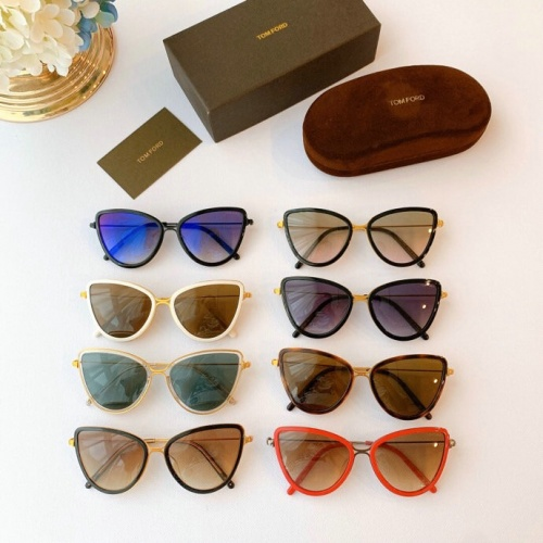 Replica Tom Ford AAA Quality Sunglasses #777090 $50.44 USD for Wholesale