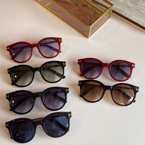 Replica Tom Ford AAA Quality Sunglasses #777096 $50.44 USD for Wholesale