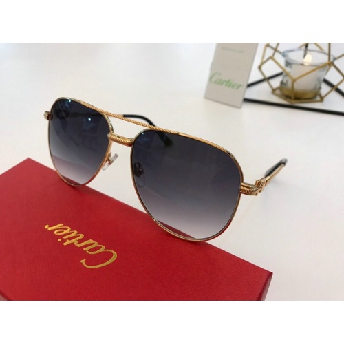 Cartier AAA Quality Sunglasses #777182