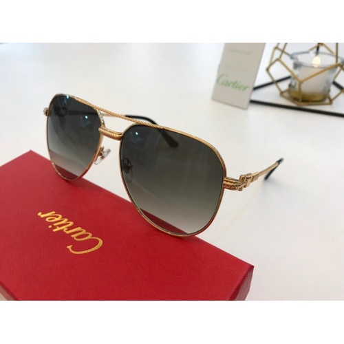 Cartier AAA Quality Sunglasses #777183