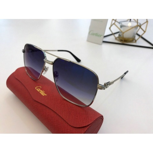 Cartier AAA Quality Sunglasses #777188
