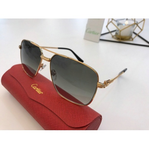 Cartier AAA Quality Sunglasses #777190