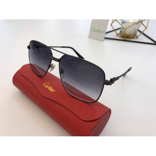 Cartier AAA Quality Sunglasses #777191