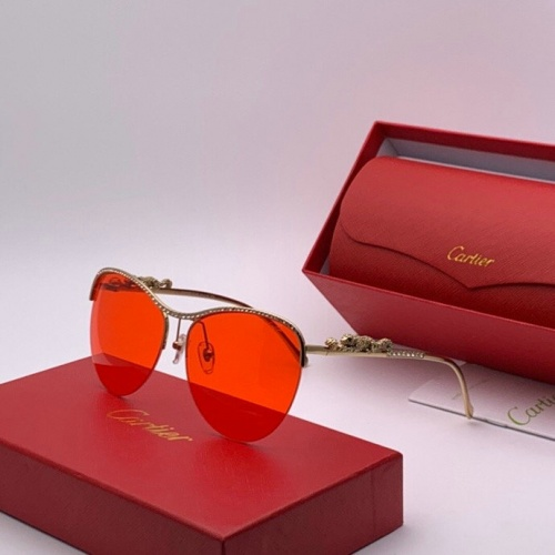Cartier AAA Quality Sunglasses #777201