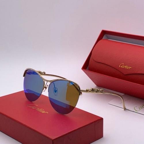 Cartier AAA Quality Sunglasses #777203