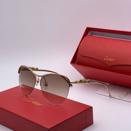 Cartier AAA Quality Sunglasses #777204