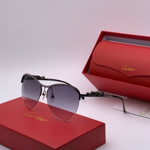 Cartier AAA Quality Sunglasses #777205