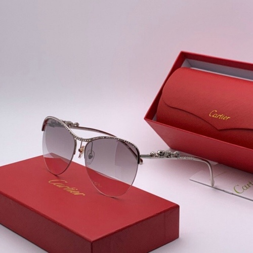 Cartier AAA Quality Sunglasses #777206