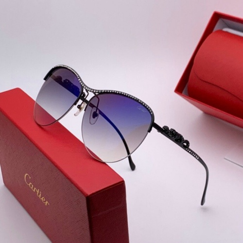Cartier AAA Quality Sunglasses #777207