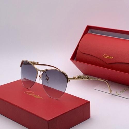 Cartier AAA Quality Sunglasses #777209
