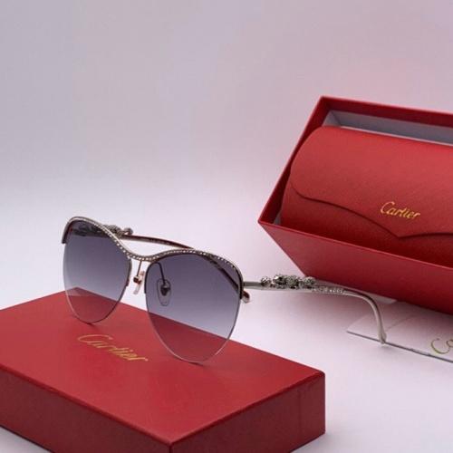 Cartier AAA Quality Sunglasses #777210 $47.53 USD, Wholesale Replica Cartier Super AAA Sunglasses