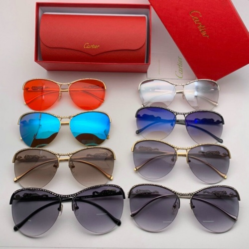 Replica Cartier AAA Quality Sunglasses #777210 $47.53 USD for Wholesale