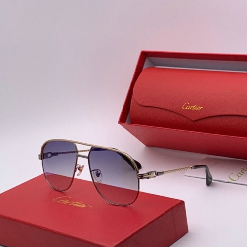 Cartier AAA Quality Sunglasses #777215