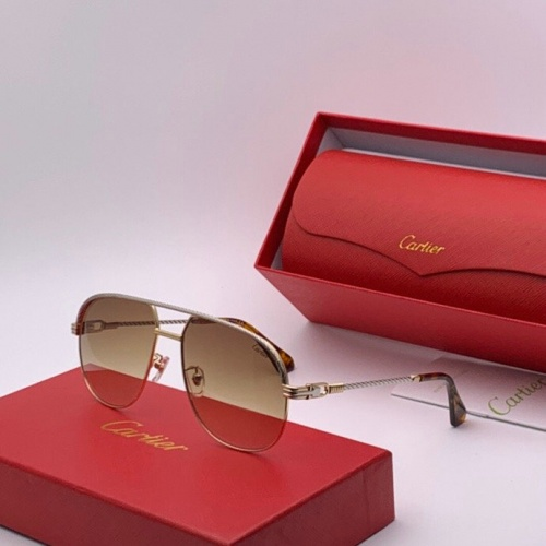 Cartier AAA Quality Sunglasses #777218