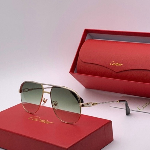 Cartier AAA Quality Sunglasses #777219