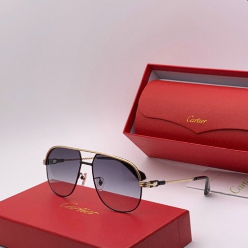Cartier AAA Quality Sunglasses #777220