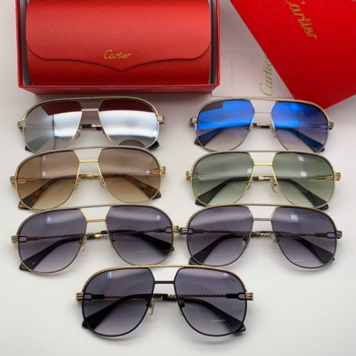 Replica Cartier AAA Quality Sunglasses #777220 $47.53 USD for Wholesale