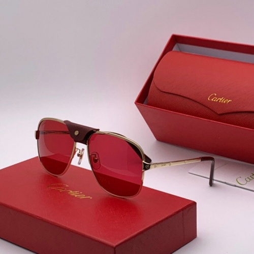 Cartier AAA Quality Sunglasses #777223
