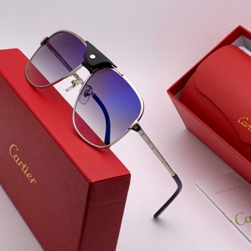 Cartier AAA Quality Sunglasses #777224