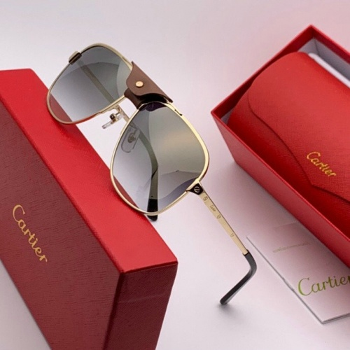 Cartier AAA Quality Sunglasses #777225