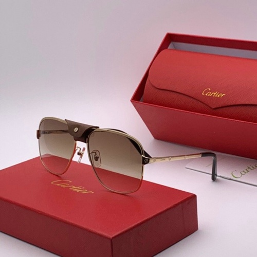 Cartier AAA Quality Sunglasses #777226