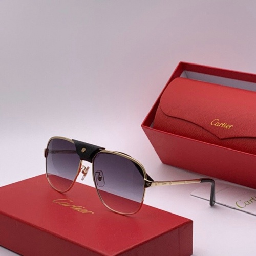 Cartier AAA Quality Sunglasses #777227