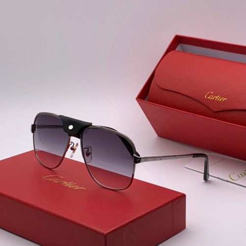 Cartier AAA Quality Sunglasses #777228